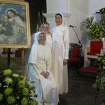Con nuestra patrona, la Virgen de la Merced
