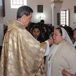 Eucaristía con el Cardenal