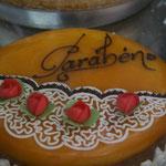Portugal Lissabon Geburtstagstorte