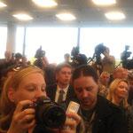 Deutschland Frankfurt Buchmesse Medien Pressekonferenz