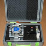 Koffer für Tisch mit Laserbrücke