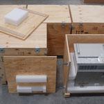 Pendelbehälter für Hochspannungsversorgung