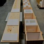 5-Meter-Kiste mit Gerätepolstern