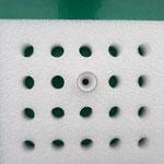 Lagerung für Keramikteile