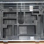 Zarges-Behälter mit Gerätelagerung