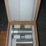 Pendelbehälter für Optikeinheit