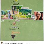 Scrapbooking Ideen für den Urlaub mit verschiedenen Textstempeln - Urlaubsstempel verzieren