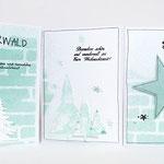Weihnachtliche Stempel zum Weihnachskarten basteln