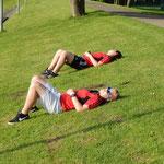 Die Trainer sind müde
