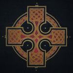 Black celtic cross