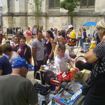 St Roch-Ecusson_Montpellier-Vide grenier 2015 - Photo Jean Marie Quiesse