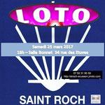 Comité de quartier st Roch-Ecusson - Loto 2017