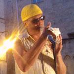 Franck Nicolas - Montpellier Comité de quartier st Roch-Ecusson - Quartier jazz - juillet 2013