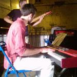 Arnault Dolmen - Montpellier Comité de quartier st Roch-Ecusson - Quartier jazz - juillet 2013