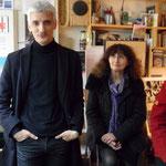 Cédric de Saint Jouan et Annie Estève - Printemps des poètes 2015 - Photo D. Ferré
