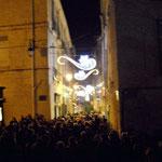 Photo D. Ferré - La foule ! Fête des lumières 2014 - Comité de quartier st Roch-Ecusson