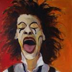24x24, acrylic on canvas, by Polina Reisman