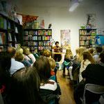 AutorInnen-Lesung Holly-Jane Rahlens Oktober 2016