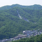 頂上より宮の森シャンツェを望む 2012.6.4