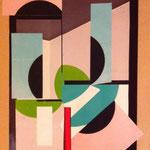 De frag ment, collages on cardboard, 2013, 30,5 x 23 cm