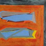 Mira, Acrylic, Paper on Cardboard, 20 x 30 cm, 2014