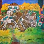 Agatharied, Oil/acrylic on Canvas, 150 x 180 cm, 2016