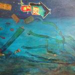 Pacubay, oil on canvas, 125 x 210 cm, 2015