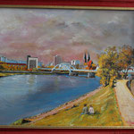Frankfurt Oder im Herbst (50x40) 200,00€