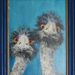 Emu Paar (30x40) 120,00€
