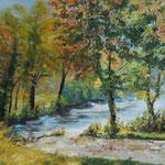 Herbst am Daemeritzsee (40x30) 100,00€