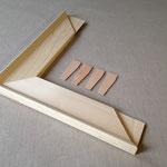 Schreiner-Keilrahmen, 35 x 90 mm