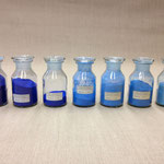 Various Azuritepigments