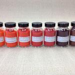 Diverse Kadmiumpigmente