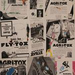 @ ERIK BONNET : Agritox, 72 x 81 cm, techniques diverses sur toile, 2008