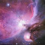 La grande nebulosa di Orione