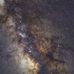 Il centro della Via Lattea dal Wyoming