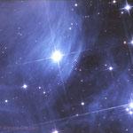 Dentro l'ammasso aperto delle Pleiadi