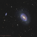 M109. Newton 25 cm f4.8, SBIG ST-10XME. Integration: 5 hours