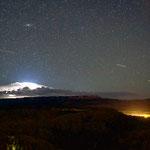Un temporale notturno al Bryce Canyon
