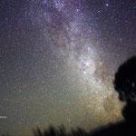 Sorge la Croce del Sud dall'outback australiamo