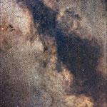 La Via Lattea nella costellazione dell'Aquila