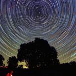 Rotazione delle stelle attorno al polo nord celeste