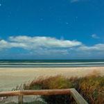 Orione dalla spiaggia di Cape Canaveral, Florida
