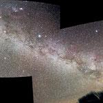 Mosaico della Via Lattea australe