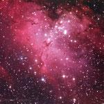 Dentro la nebulosa Aquila