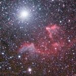 Nebulosa attorno a Gamma Cassiopeiae