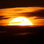 The 2012 transit of Venus at dawn