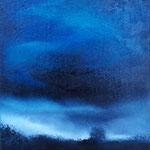Blue 2 - huile sur toile 18x24