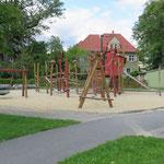 Pulsnitz, Fabrikstraße, Pfefferkuchenspielplatz, Baujahr 2011