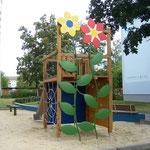 Lübbenau, Spielplatz Vier Jahreszeiten, Baujahr 2009